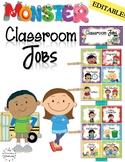 Classroom Jobs Monster Themed Classroom