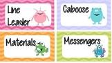 Classroom Jobs Monstr theme