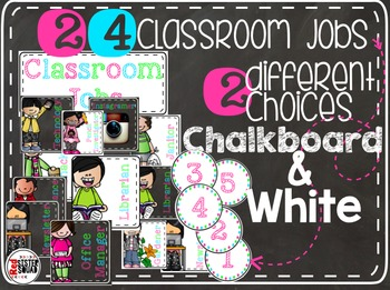 Classroom Jobs Neon