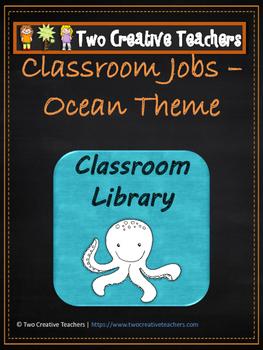 Classroom Jobs Ocean Theme