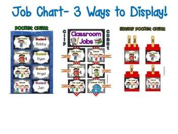 Classroom Jobs *Over 100 job titles* {Jungle Theme} 3 ways to display!