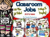 Classroom Jobs *Over 100 job titles* {Sports Theme} 3 ways to display!
