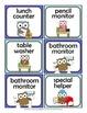 Classroom Jobs: Owls