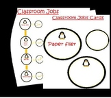 Classroom Jobs Penguin themed job signs set