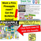 Classroom Jobs Pineapple Theme 20% OFF Back to School