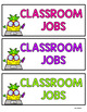 Classroom Jobs-Pineapples