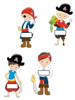 Classroom Jobs Pirate Theme