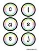 Classroom Jobs Pocket Bulletin Board/Chart Set - Neon Chevron