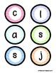Classroom Jobs Pocket Bulletin Board/Chart Set - Pastel Chevron