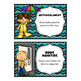 32 Classroom Jobs with Editable Templates *** Teal and Bla