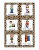 Classroom Jobs Pocket Chart or Magnetic Set {Animal Print Design}