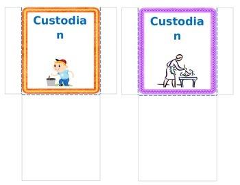 Classroom Jobs - Pocket Style