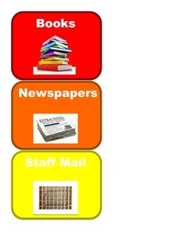 Classroom Jobs Pockets