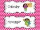 Classroom Jobs Polka Dot - velcro or pocket chart