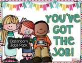 Classroom Jobs Posters Bulletin Board Set
