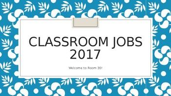 Classroom Jobs Powerpoint
