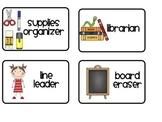 Classroom Jobs Printables