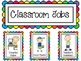 Classroom Jobs-Rainbow Themed