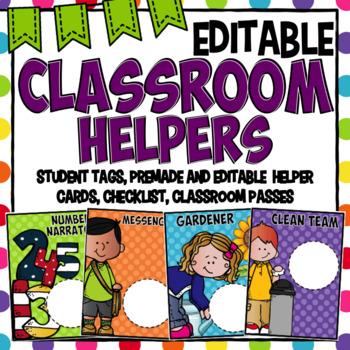 Class Jobs- Editable