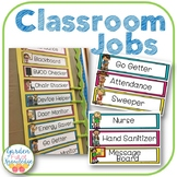 Jobs and Responsibilities Schedule for Classroom Management