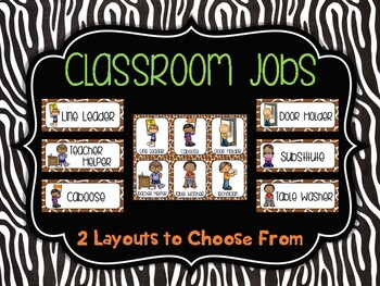 Classroom Jobs: Rumble in the Jungle