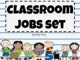 Classroom Jobs Set: 33 Labels
