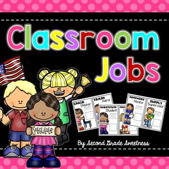 Classroom Jobs *Editable*