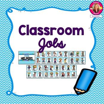 Classroom Jobs Setup {Ocean Themed}