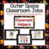 Outer Space Decor: Classroom Jobs Signs