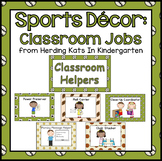 Sports Themed Classroom Jobs