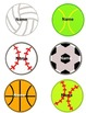 Classroom Jobs Sports Theme