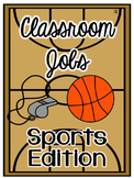 Classroom Jobs - Sports Theme - EDITABLE!