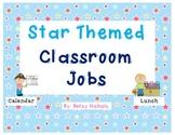 Classroom Jobs- Star Themed