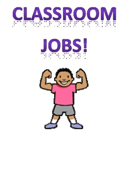 Classroom Jobs Starter Pack!