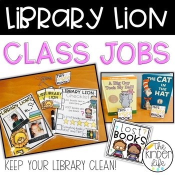 Classroom Jobs Student Library Organization and Leadership Role