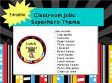 Classroom Jobs: Superhero