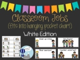 Classroom Jobs White Edition INK SAVER