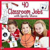 Classroom Jobs With a Sports Theme