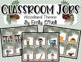 Classroom Jobs (Woodland Theme)