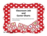 Classroom Jobs and Center Charts