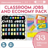 Classroom Jobs and Economy Pack 100% EDITABLE