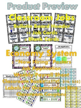 Classroom Jobs and Economy System