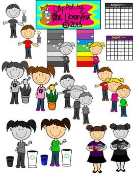 Classroom Jobs and Rules Clip Art for Personal or Commercial Use