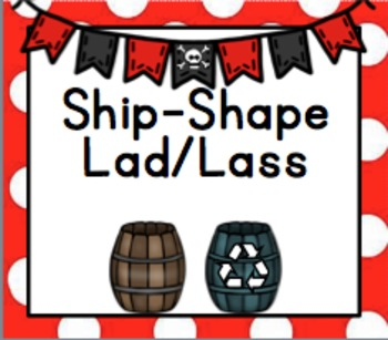 Classroom Jobs editable (Pirate Theme)