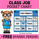 Classroom Jobs Pocket Chart