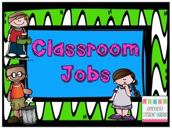 Classroom Jobs for Everyone!
