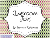 Classroom Jobs for Everyone