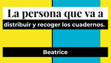 Classroom Jobs for Spanish class