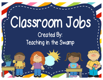 Classroom Jobs for all Ages
