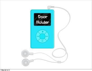 Classroom Jobs - iPods